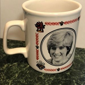 Prince Charles, Lady Diana Wedding Cup 1981